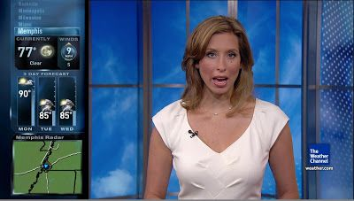 News Babes: The Weather Channel's, Weather Babe: Stephanie Abrams