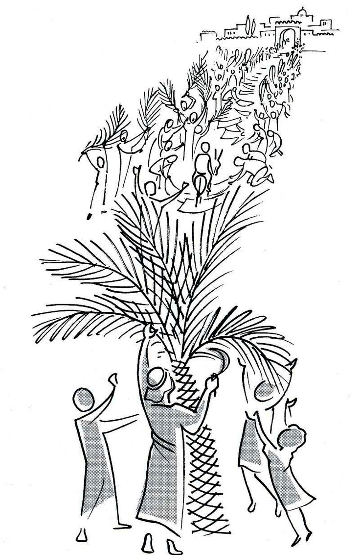 20 VALLOTTON BENI SOIT CELUI QUI VIENT.jpg - Vallotton Annie -Drawings-Good News Bible -United bible societies 1976