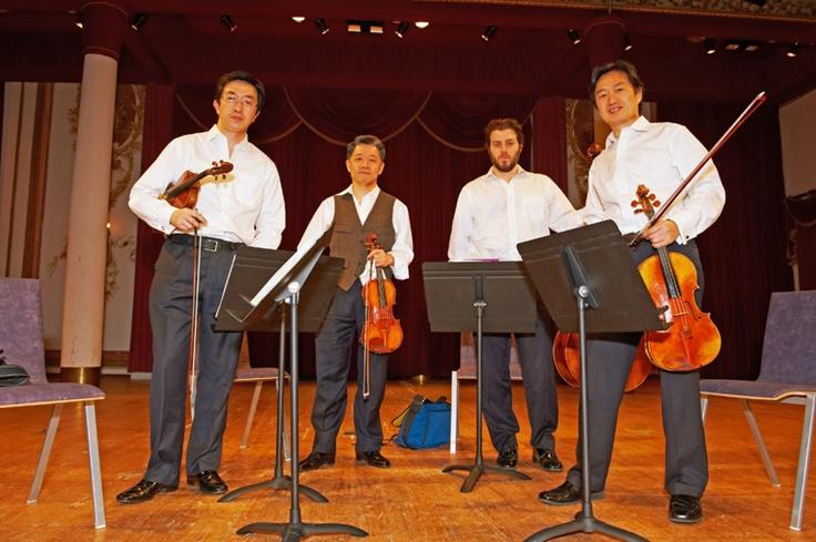 Shanghai Quartet @ Schloss Esterházy, 04/21/2012