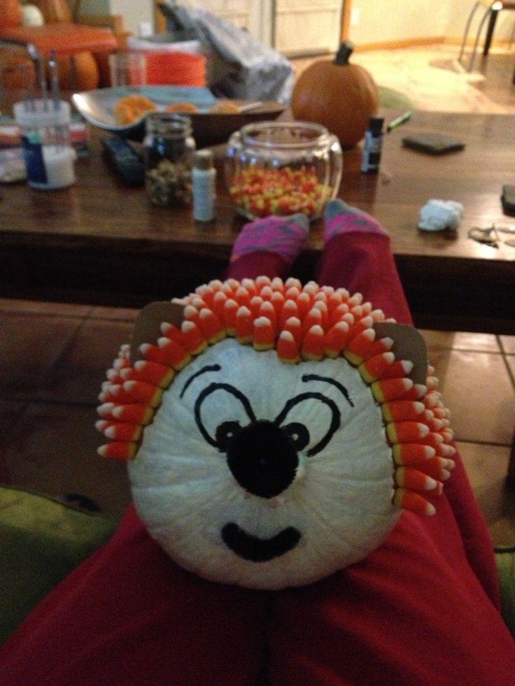 ~ Hedgehog Pumpkin