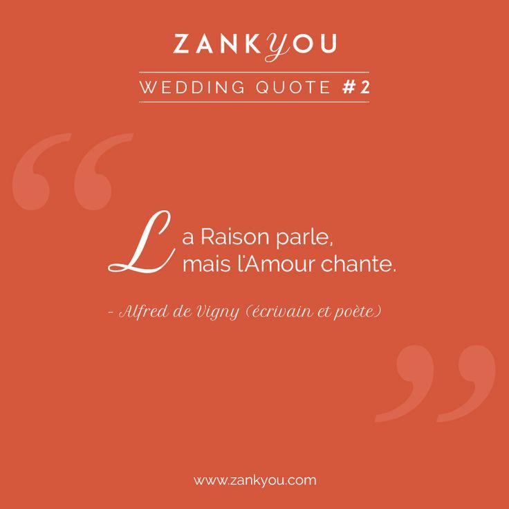 Wedding Quote #2 Tout s'éclaire quand le cœur commence à chanter pour l'être aimé ! Partagez avec celui ou celle qui vous fait vibrer <3