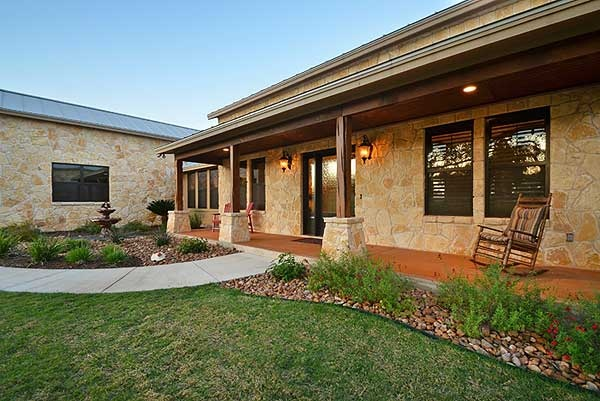 Plan 46041hc Hill Country Home With Massive Porch Front