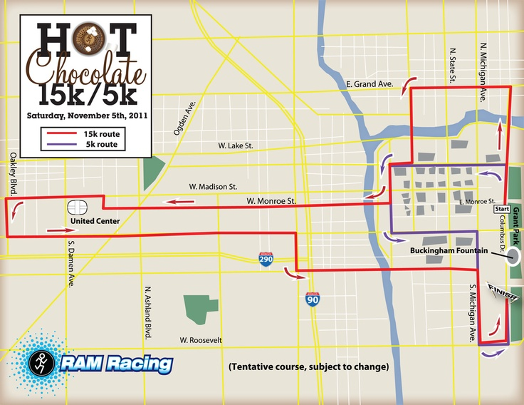 Hot Chocolate 5K Chicago 11/2014 - My 2st 5k, after my first 10k....I am so backwards