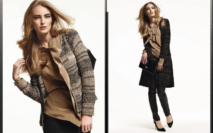 Claudia Sträter fall/winter 2013 campaign with Dutch model Ymre Stiekema.