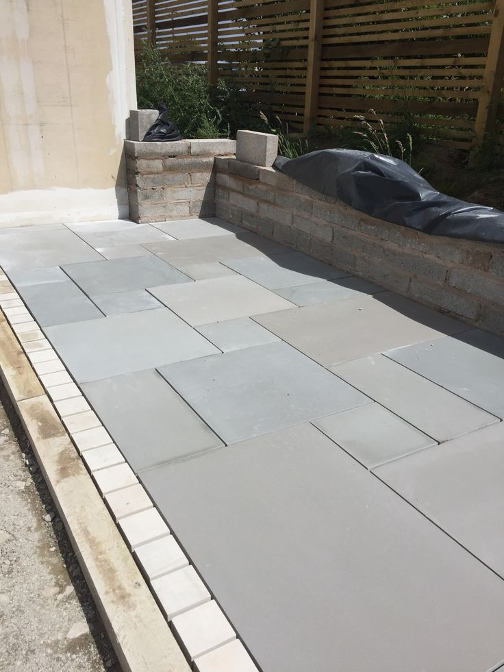 Kandala Grey Sawn Smooth Patio Paving Pack Coverage   Inc VAT U0026 FREE  Nationwide Delivery   Cheshire Sandstone
