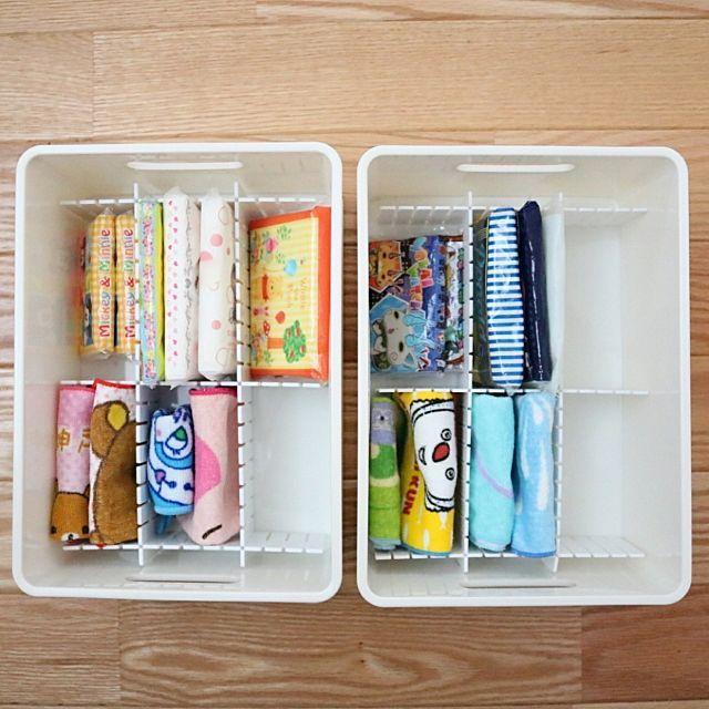 収納に困ったらコレ ニトリのインボックスが家中で大活躍 クローゼット 収納 収納 アイデア 収納術 クローゼット