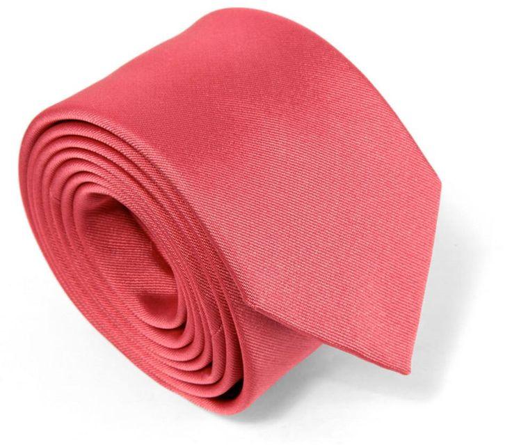 Cravate corail - Maison de La Cravate.  #tie #ties #coral #corail #cravate #cravates #men #accessories #menaccessories #wedding #mariage #mode #thehouseofties #maisondelacravate #thenines
