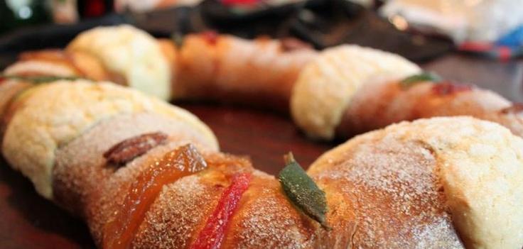 Rosca de Reyes: January, Kiwilimon Rosca De Rey, Reyes 13, Cocina Madai, Receta De, Prepara Una, De Rosca, De Reyes, Deliciosa Rosca