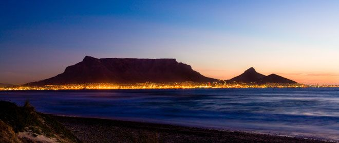 A beautiful picture of Table Mountain!