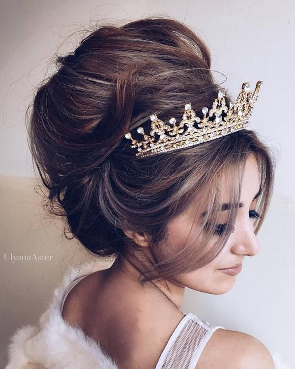 Wedding Updo Hairstyles for Long Hair from Ulyana Aster_18 ❤ See more: http://www.deerpearlflowers.com/wedding-updo-hairstyles-for-long-hair-from-ulyana-aster/2/