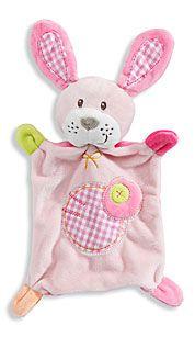 Baby-Kuscheltuch in rosa