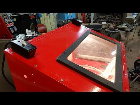Pt  8) HF Blast Cabinet - Lighting Upgrade Kit (Harbor