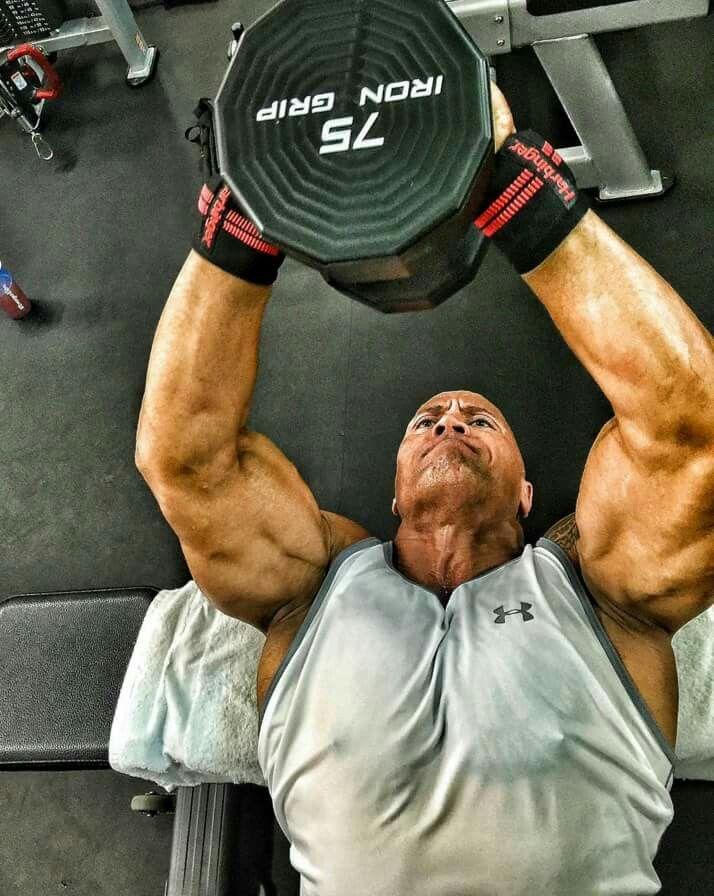 Dwayne johnson training