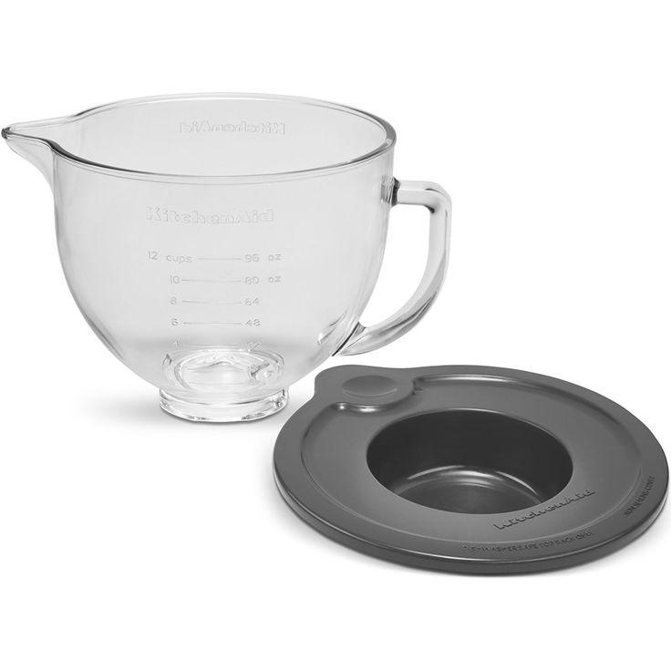 Kitchenaid accessories glass bowl wlid 47l ksm5gb