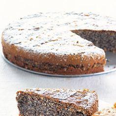 Österreichischer Mohnkuchen ohne Mehl - Flourless Mohnkuchen - Interesting Idea