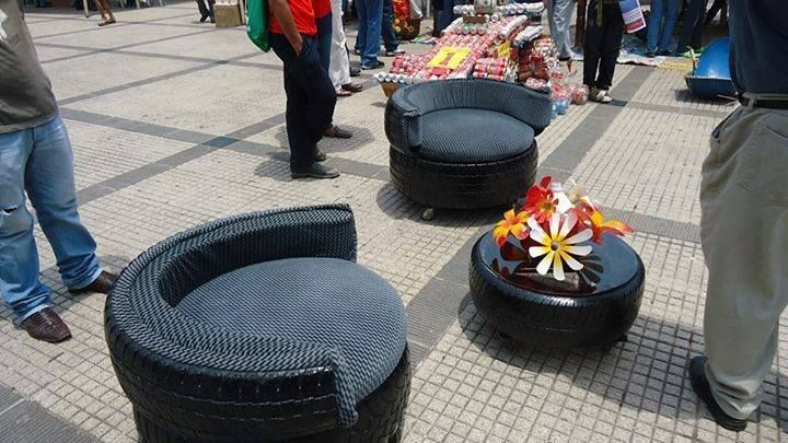 Recycled tyres!!!