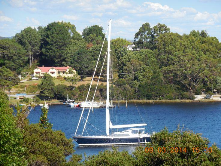 Gordon River, Strahan, Tasmania