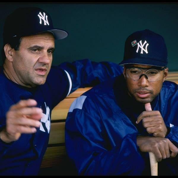 Joe and Bernie - Two All Time Great Yankees