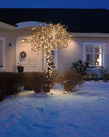 KONSTSMIDE Micro LED-Lichterkette bernsteinfarbene, klassisch warmweiße LED