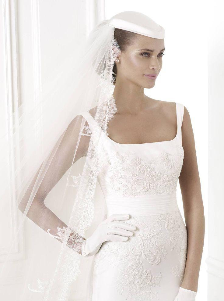 Belwe esküvői ruha - Pronovias 2015 kollekció http://lamariee.hu/eskuvoi-ruha/pronovias-pre-collection-2015/ania