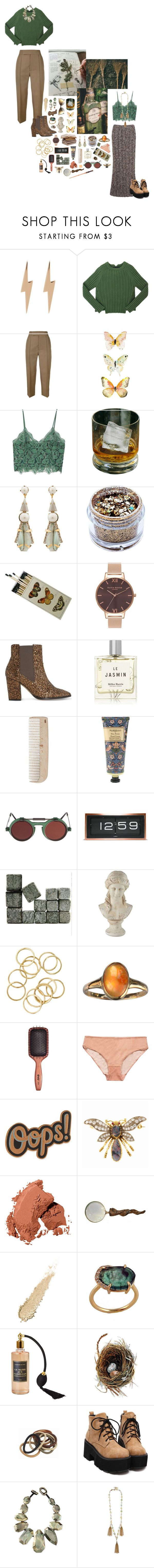 """""""Those who don't believe in magic will never find it. ---Roald Dahl"""" by alexisthewanderluster ❤ liked on Polyvore featuring Edge Only, GET LOST, Marc by Marc Jacobs, Marni, MANGO, Elizabeth Cole, In Your Dreams, Olivia Burton, Dune and Miller Harris"""