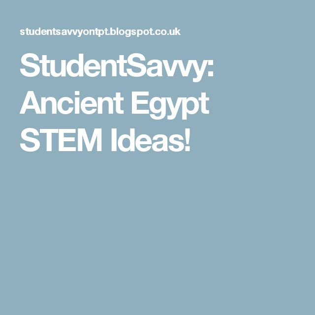 Stem Schools In Egypt: 25+ Best Ideas About Ancient Egypt On Pinterest