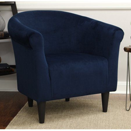 Best Mainstays Microfiber Bucket Accent Chair Multiple Colors 400 x 300