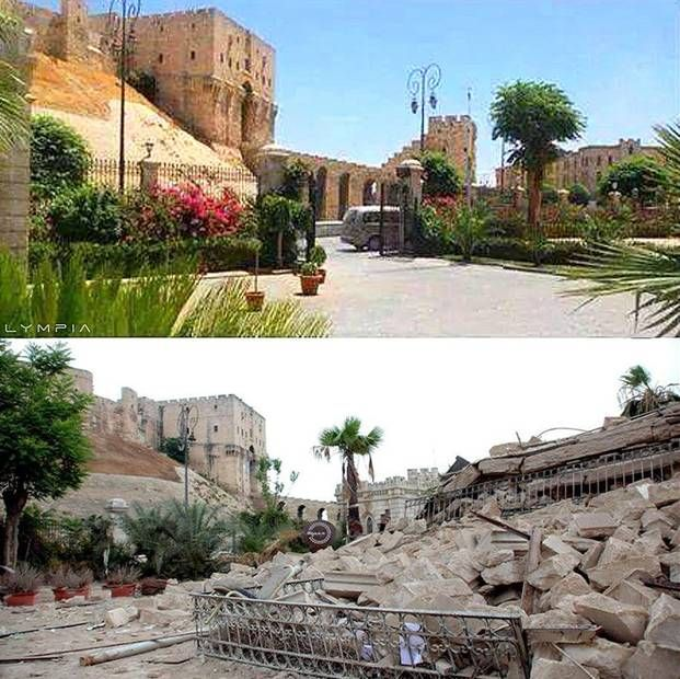 Syria Before and After: These sobering photos show a war-torn Aleppo https://mic.com/articles/162425/syria-before-and-after-these-sobering-photos-show-a-war-torn-aleppo?bt_ee=dhhj3ENiWyO7uvkuq++4iax8EsjIpjX5v6CfLP5Ud3qTM6VGGkoTG9WHrkRog1oz&bt_ts=1481855041150#.kPOr6CKSR