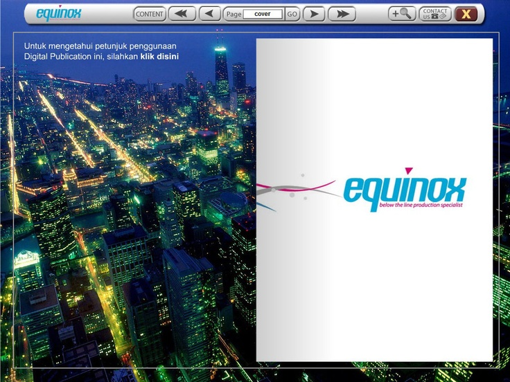 Equinox Company Profile (cover page) I Inspirasi Media