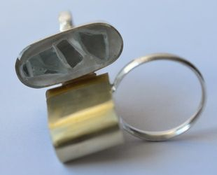 More glass and brass rings!