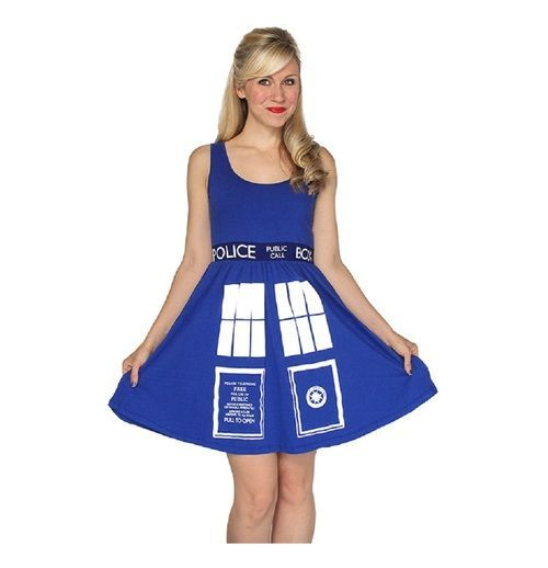 Commemorate your favorite cult classic with an awesome Doctor Who TARDIS Juniors Dark Blue Costume Skater Dress . Free shipping on Doctor Who orders over $50.