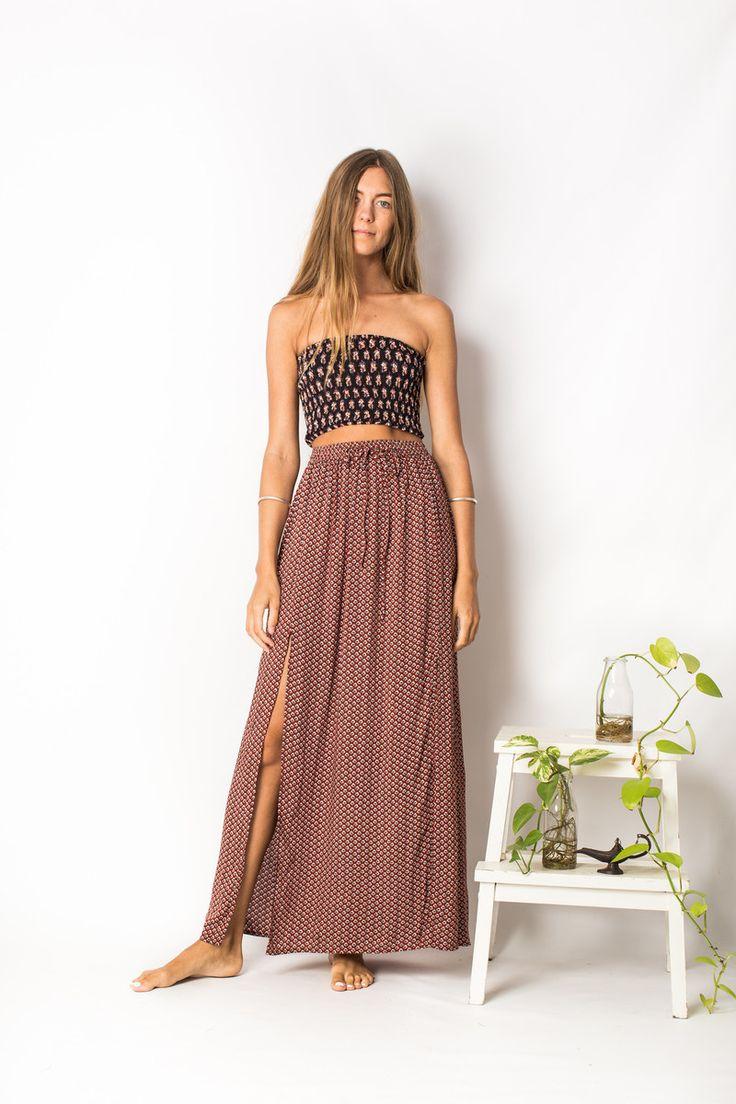 Odessa Maxi Skirt