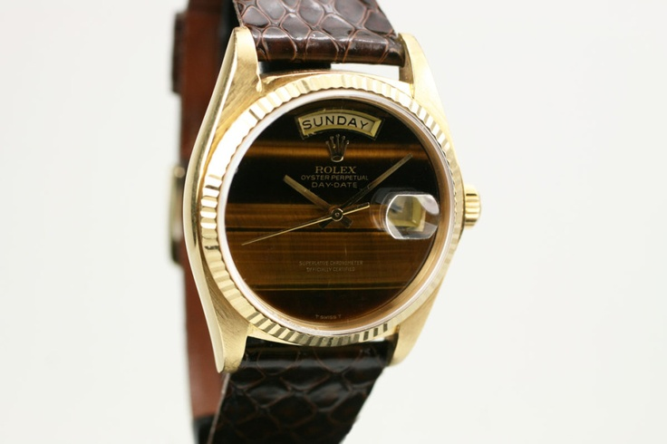 Wanted: Tigers Eye Dial. Rolex Presidential.