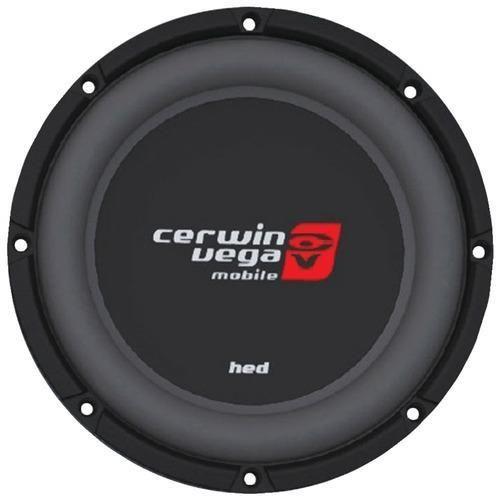 CERWIN-VEGA MOBILE HS104D HED DVC Shallow Subwoofer (10, 4ohm ) L572-PET-CERHS104D