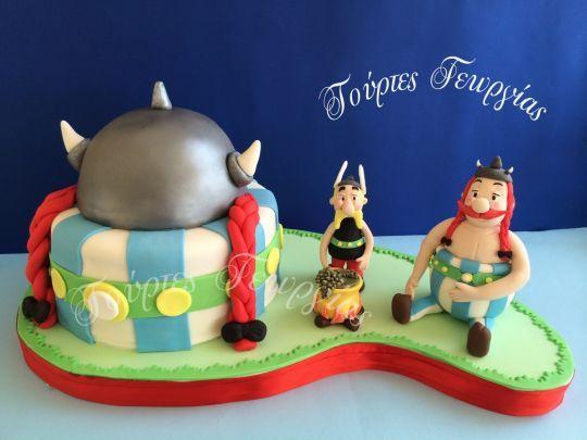 Asterix Obelix cake