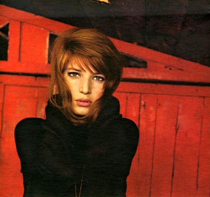 """Monica Vitti in """"Il Deserto Rosso"""" (""""Red Desert"""") directed by Michelangelo Antonioni."""