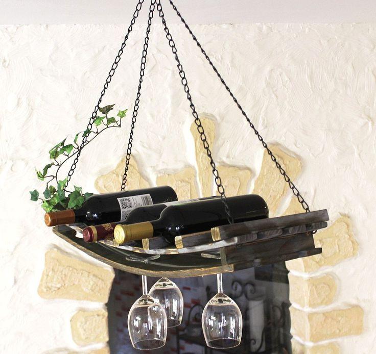 25+ best ideas about flaschenregal holz on pinterest   wein vinos ... - Weinregal Design Idee Wohnung Modern Bilder