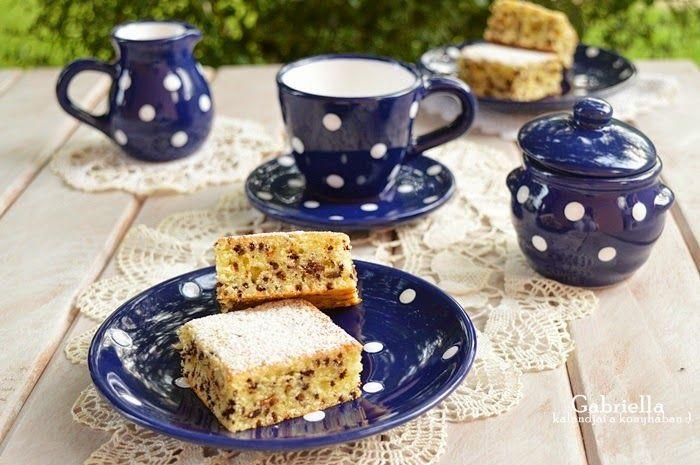 Gabriella kalandjai a konyhában :): Bögrés hangyaboly süti