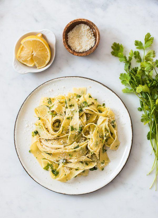 Lemon Cilantro Pasta