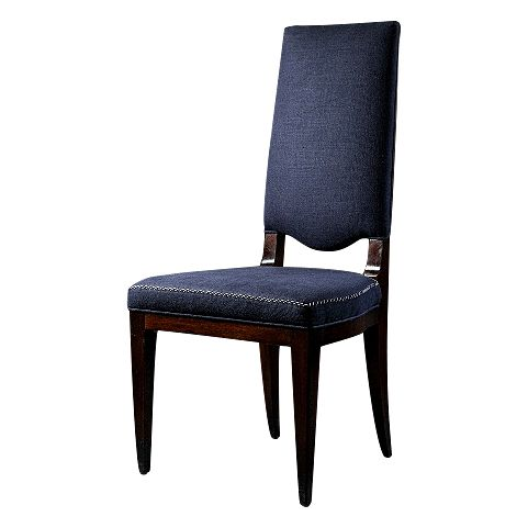 Метки: Кухонные стулья.              Материал: Ткань, Дерево.              Бренд: ROOMERS.              Стили: Классика и неоклассика, Лофт.              Цвета: Синий.