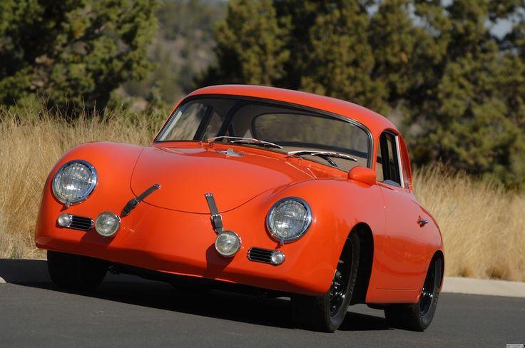 1958 Porsche 356 Outlaw Coupe Emory Motorsports Porsche