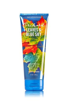 Orchard Leaves & Blue Sky Ultra Shea Body Cream - Signature Collection…