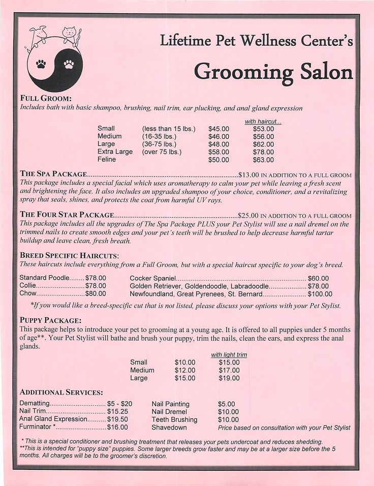 how to write grooming reminders to clients