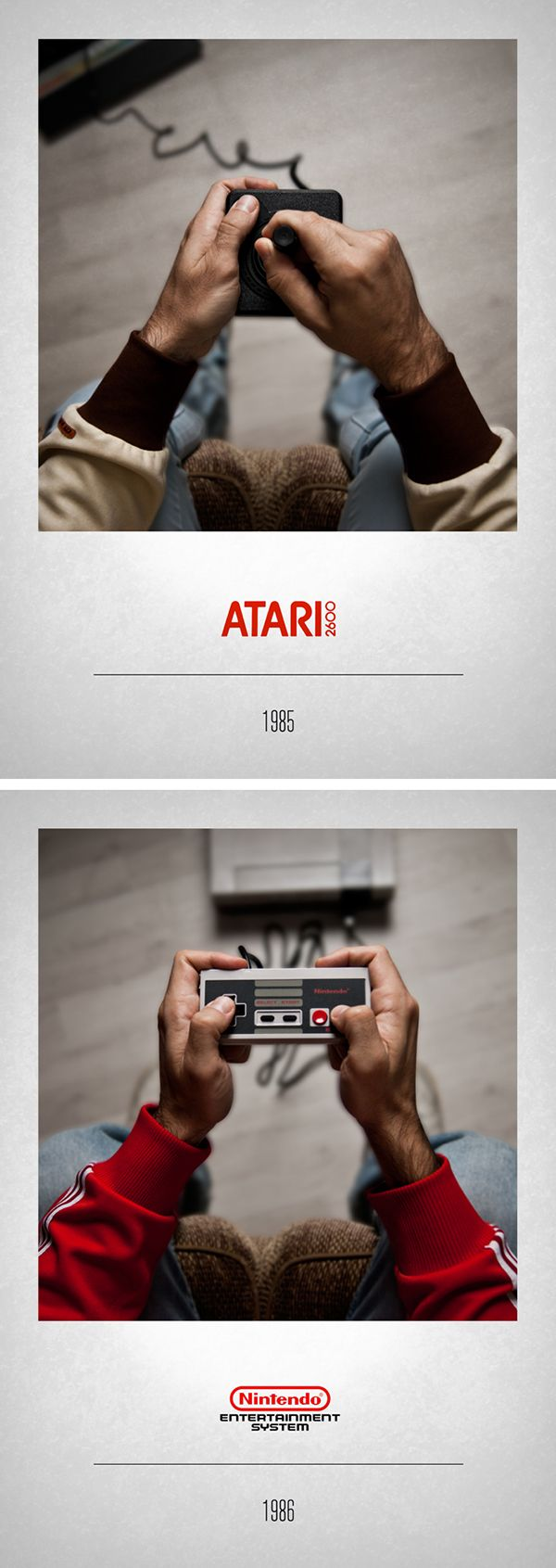 Awesome photography collection of 26 different controllers, showing off the evolution over the years.