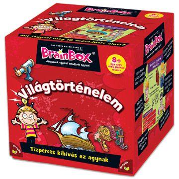Játssz és tanulj együtt a Brainbox Világtörténelem játékkal! Húzz egy kártyát, tanulmányozd 10 másodpercig, majd válaszolj a hátoldalán olvasható kérdések közül legalább egyre! Ha tudtad a választ, megtarthatod a kártyát. Aki a legtöbb kártyát gyűjti össze, az nyer. A Brainbox Világtörténelem játék egyedül és csoportosan egyaránt játszható! Praktikus csomagolásának köszönhetően akár utazáshoz is használható. A játék 70%-ban újrahasznosított anyagokból készült. A Brainbox Világtörténelem…