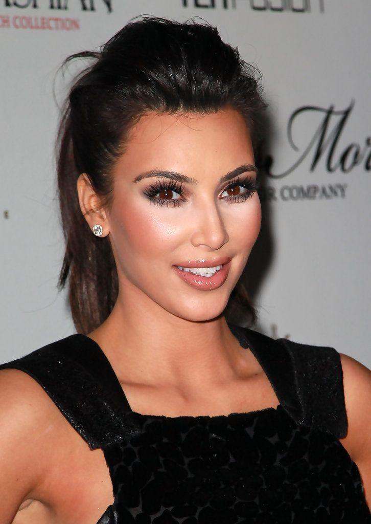Kim Kardashian False Eyelashes - Kim Kardashian Makeup - StyleBistro