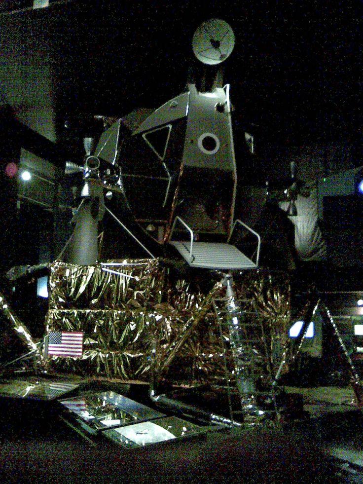 Replica Moon Landing unit