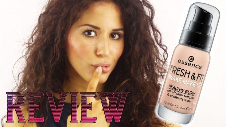 Review Nuovo Fondotinta Essence Fresh & Fit Awake Makeup (prima e dopo)
