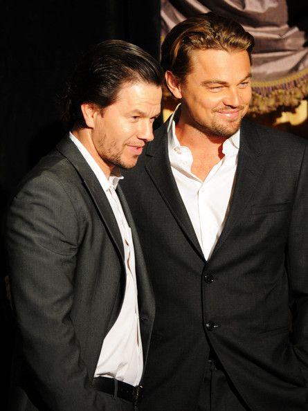 Mark Wahlberg & Leonardo diCaprio