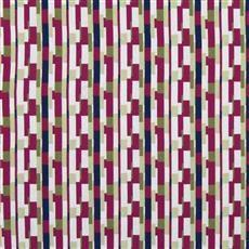 Unique Shapes - Robert Allen Fabrics Fuchsia